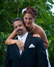 Real wedding, fort williams park wedding, outdoor wedding, wedding updo