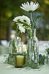 Garden wedding ideas, wedding centerpiece ideas, garden wedding centerpiece ideas