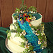 Kayak wedding cake ideas, waterfall wedding cakes, wedding cakes