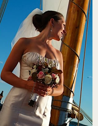 Portland Schooner Company, outdoor wedding ideas, Maine