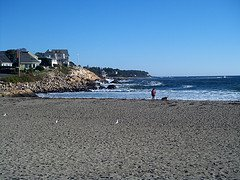 Short Sands Beach, York Beach, Maine, Beach weddings, outdoor wedding ideas